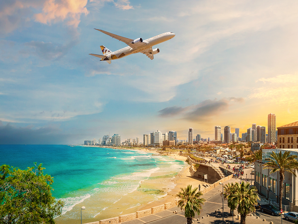 Etihad Airways Makes History with First Commercial Passenger Flight From A GCC Nation to Israel