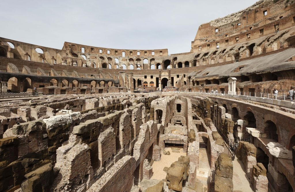 Rome's Colosseum Opens its Underground to the Public For the First Time in History